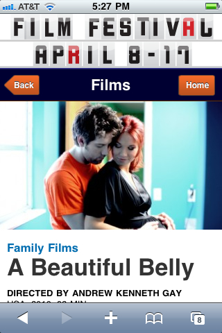 Win tickets to the premiere of A Beautiful Belly and to see the Pauses